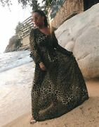 Handm Leopard Animal Print Dress Wedding Christmas Size 8 Bloggers Sold Out