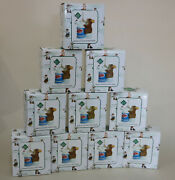 Charming Tails Mice Hairdresser Ornaments Lot Of 10 Beautician Gift Nib