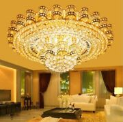European Style K9 Clear Crystal Led Ceiling Lighting Chandeliers Lamps 1188
