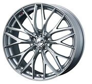 Weds Leonis Mx Wheels 18x7.0j +47 5x114.3 For Honda Civic Type R Made In Japan