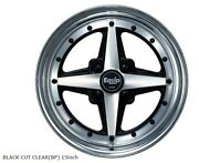 Work Equip01 Wheels Rims 15x8.5j +1 Set Of 4 For Toyota Ae86 Etc. From Japan