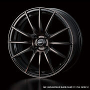 Wedssport Sa-15r 17x7.0j +43 4x100 Rims Set Of 4 For Mx-5 Prius C From Japan