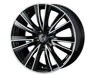 Weds Rizley Jt Wheels 18x7.0j +55 5x114.3 For Honda Civic Type R Made In Japan