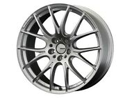 Rays Homura 2x7 Wheels 19x8.0j +48 5x112 Spark Plated Silver Set Of 4 From Japan