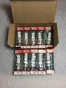 L4g Champion Spark Plugs - Box Of 10 - New Old Stock Nos - Made In Usa Vintage