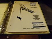 Shakespeare Electric Boat Motor And Reel Repair Parts Catalog Service Manuals