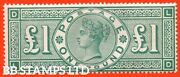 Sg. 212. K17. Andpound1.00 Green Ld . A Fine Lightly Mounted Mint Example Of B43186