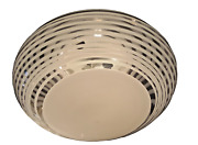 1970s Murano Large Flush Mount Glass Ceiling Light Fixture Wall Sconce