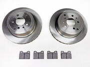 Ferrari Testarossa Rear Brake Pad And Rotor Set Late From Chassis 75997