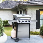 Gas Grill Performance 4 Burner Outdoor Backyard Bbq Cooking Meat Barbecue Cook