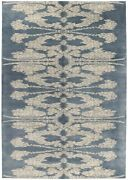 Contemporary Abstract Rug Wool - 6and039 X 9and039