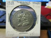 1831 British William Iv And Adelaide Coronation Medal 31mm White Metal