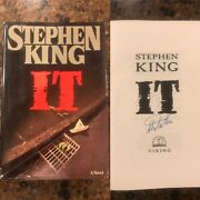 Stephen King Signed Hardcover Book It First Edition 9th Printing Rare