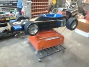 1960's Vintage Coin Operated Race Car Kids Ride