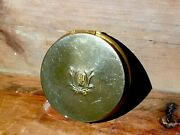 Charles Of The Ritz Face Powder Compact Art Deco Sifter Puffy Puff Signed 1930s