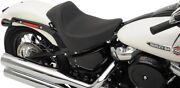 Drag Specialties Ez-on Smooth Solo Seat Harley Softail Flhc Deluxe Slim 18-19
