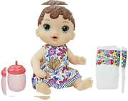 Baby Alive Has-e0499-ax00 Lil Sips Brunette Girl Doll Multicolor