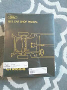 Ford 1973 Carshop Manual Volumes 1-5 Brand New