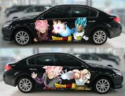 Anime Dragon Ball Super Car Body Door Vinyl Sticker Graphics Decal Fit Any Auto
