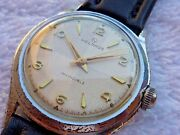 Vintage Helbros Invincible Guilloche 17 Jewels Fully Serviced Watch