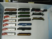 Lot Of 35 N Scale Engine Shells, No Boxes – Used - See Both Pics