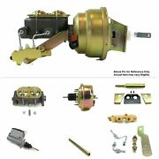 196-962 Chevy Truck Manual Trans Fw Mount Power 7 Single Booster Kit Disc/drum