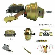 1960-62 Chevy Truck Pro-touring Mt Fw Mount Power 11 Dual Booster Kit Disc/disc
