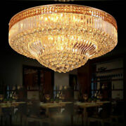 European Court Style Crystal Ceiling Lamps Led Chandeliers Lighting Fixture Ya3