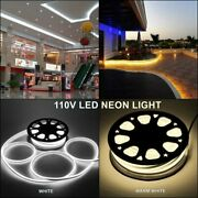 Led Neon Flex Rope Light Lights Silicone Waterproof Pool Bar Sign Outdoor Party