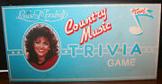 Vintage 1984 Louise Mandrelland039s Country Music Trivia Game First Edition Rare