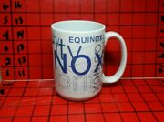 Celebrity Cruise Ship Equinox Collectable Coffee Mug Cup Large Size Full Graphic