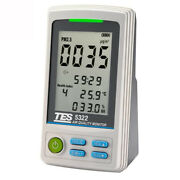 Tes5322 Pm2.5 Air Quality Monitor Fine Particulate Matter Measuring Meter