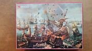 Vintage The Battle Of Gibraltar 2000 Piece Jigsaw Puzzles By Jumbo