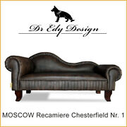 Dog Bed Pet Bed Moscow Nr 1 Chesterfield Recamiere Xxl Antique Coffee