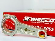 Wiseco Boostline Connecting Rods For Honda B18c 138mm Arp 625+ Rods