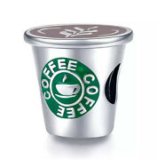 Coffee Cup Charm Starbucks Costa Style Genuine 925 Sterling Silver Gift 💜💛💜