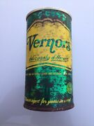 Vintage Vernors Flat Top Soda Can With Pull Tab 1960's