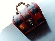 Vintage Wood Jewelry Box,hand-carved Jewels Old Cataract,box - Chest.