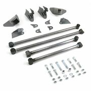 Stage2 Triangulated Rear Suspension Four 4 Link Kit For 73-79 Chevy Truck