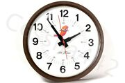 Psa Vintage Wall Clock Pacific Southwest Airlines 13.5 Round Aa Battery Gift