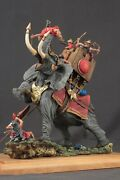 Tin Toy Soldiers Elite Painted 54 Mm War Elephant