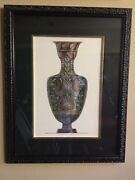 Henry Moses Large Scale Neoclassical Etruscan Urn Engraving Print Plate 6