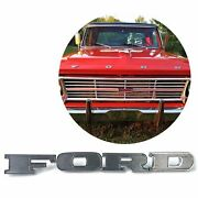 1967-69 Ford Truck Hood F-o-r-d Letters Front Of Hood C7tz-16606-k
