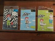 Set Of 3 Adorable Notebooks Journals Notepads Stationary So Cute And Fun