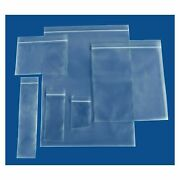 Clear Reclosable Zip And Lock Plastic 6 Mil Bags Poly Jewelry Zipper Bag
