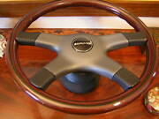 Mercedes Amg 560sec Wood Steering Wheel Nardi German E.u. D.o.t. Spec. Nos