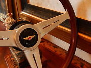 Bentley Turbo R Wood Steering Wheel 1985 - 89 E.u. D.o.t. Approved Stronger Rim