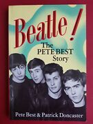 Signed Beatle The Pete Best Story Autobiography Beatles Patrick Doncaster Book