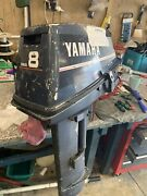 Yamaha Outboard 8hp Two Stroke Braking Parts Gearbox Carb Cdi Engine