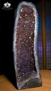 25 Amethyst Crystal Geode Cluster Cathedral - 47 Pounds - Free Shipping